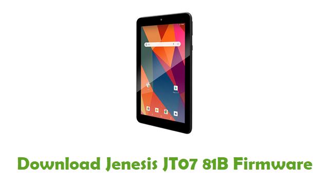 Download Jenesis JT07 81B Stock ROM