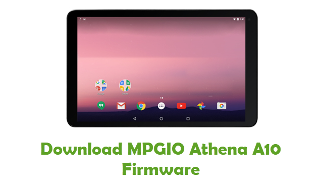 Download MPGIO Athena A10 Stock ROM