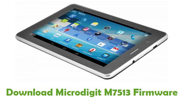 Download Microdigit M7513 Stock ROM