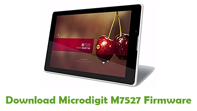Download Microdigit M7527 Stock ROM