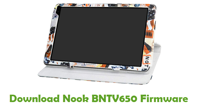 Download Nook BNTV650 Stock ROM