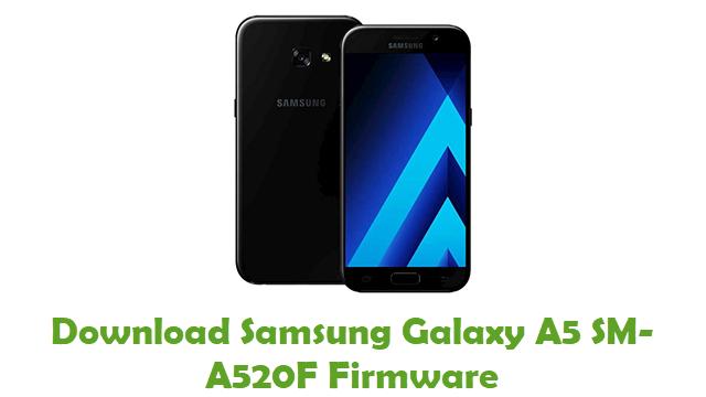 Download Samsung Galaxy A5 SM-A520F Stock ROM