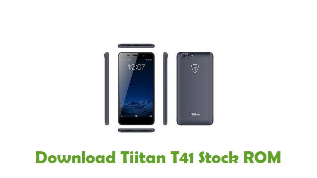 Download Tiitan T41 Stock ROM