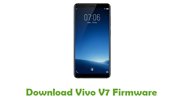 Download Vivo V7 Stock ROM