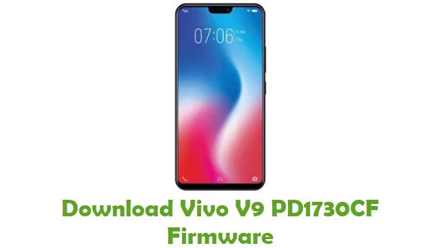Download Vivo V9 PD1730CF Stock ROM