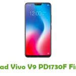 Vivo V9 PD1730F Firmware