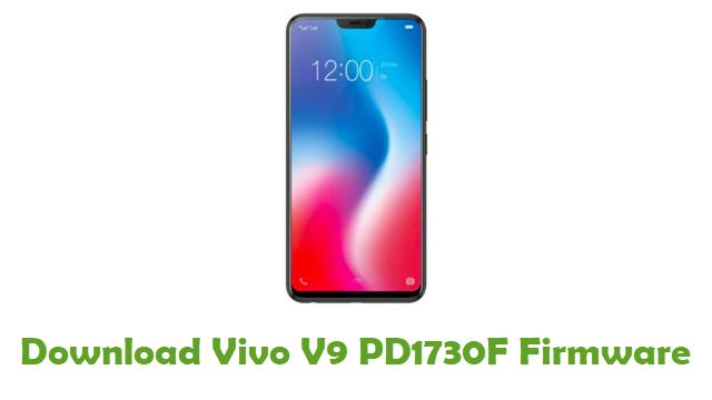 Download Vivo V9 PD1730F Stock ROM