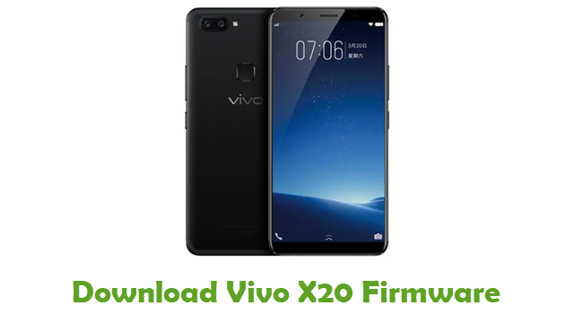 Download Vivo X20 Stock ROM