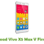 Vivo X5 Max V Firmware