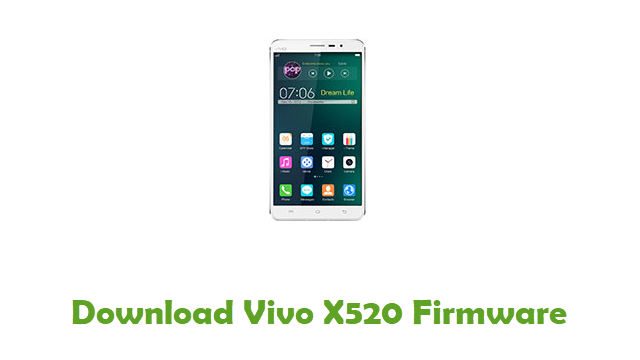 Download Vivo X520 Firmware