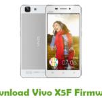 Vivo X5F Firmware