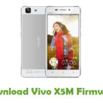 Vivo X5M Firmware
