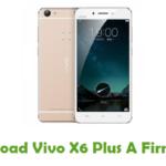 Vivo X6 Plus A Firmware