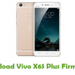 Vivo X6S Plus Firmware