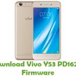Vivo Y53 PD1628F Firmware