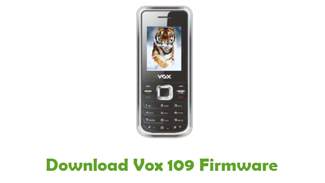 Download Vox 109 Stock ROM