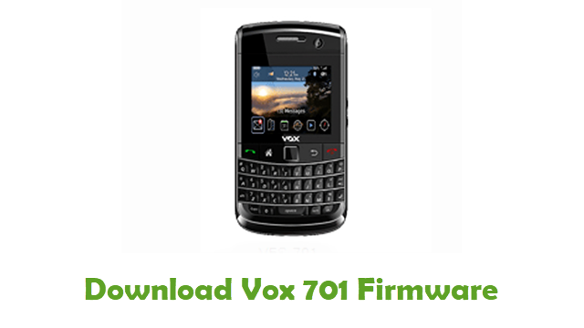 Download Vox 701 Firmware