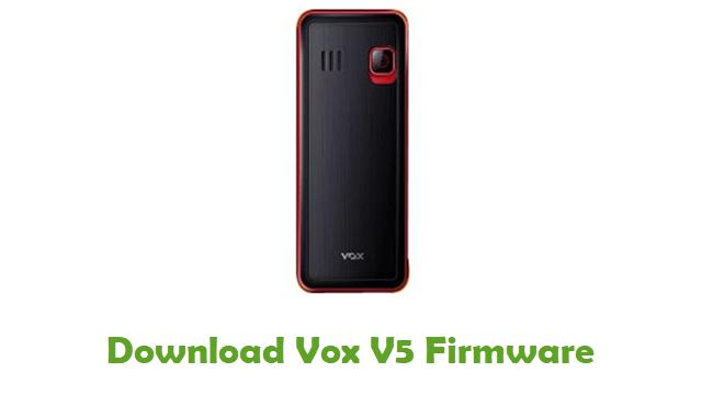 Download Vox V5 Stock ROM