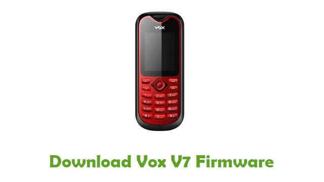 Download Vox V7 Stock ROM