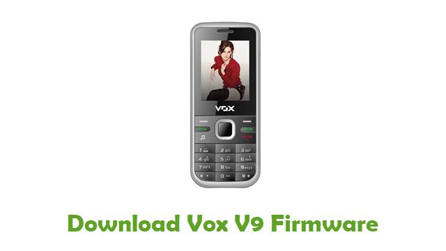 Download Vox V9 Firmware