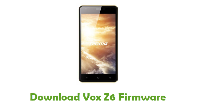 Download Vox Z6 Firmware