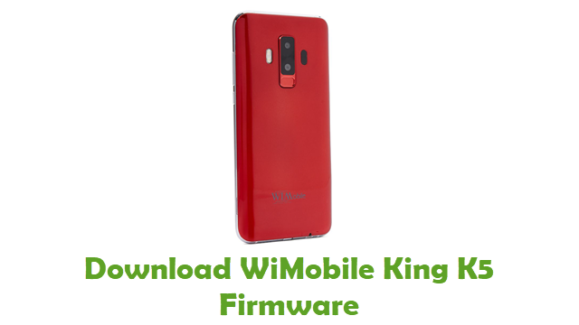 Download WiMobile King K5 Firmware