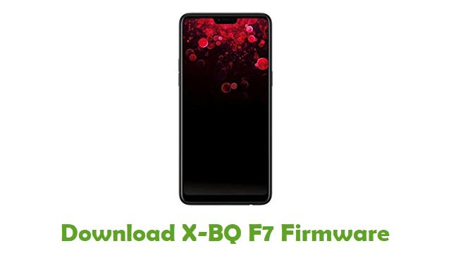 Download X-BQ F7 Stock ROM