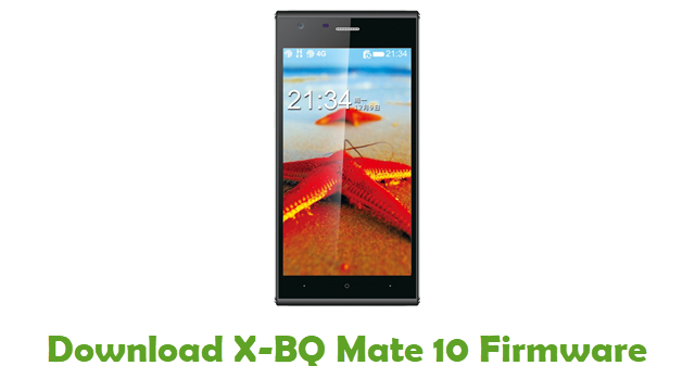 Download X-BQ Mate 10 Firmware