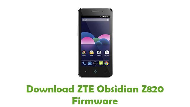 Download ZTE Obsidian Z820 Stock ROM