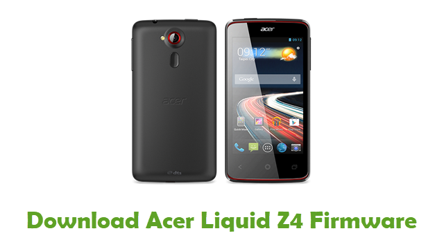 Download Acer Liquid Z4 Stock ROM