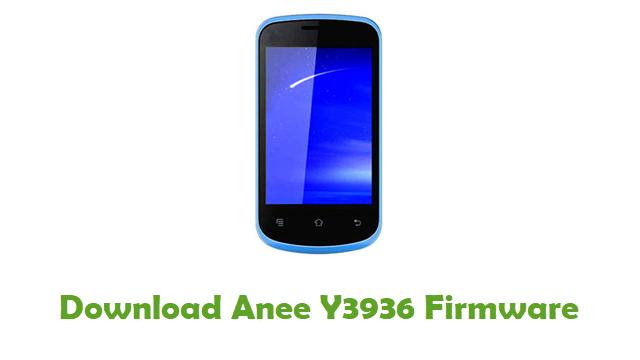 Anee Y3936 Stock ROM