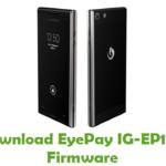EyePay IG-EP100 Firmware