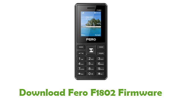 Download Fero F1802 Stock ROM