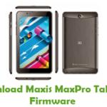 Maxis MaxPro Tab T25 Firmware