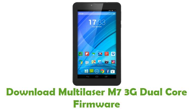 Multilaser M7 3G Dual Core Stock ROM