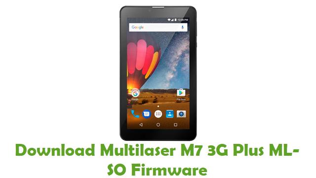 Download Multilaser M7 3G Plus ML-SO Stock ROM