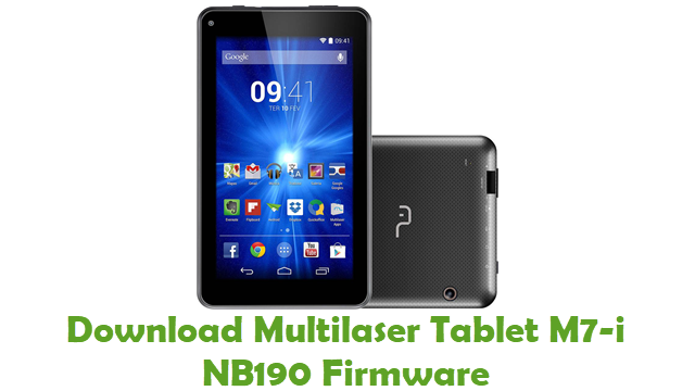 Multilaser Tablet M7-i NB190 Stock ROM