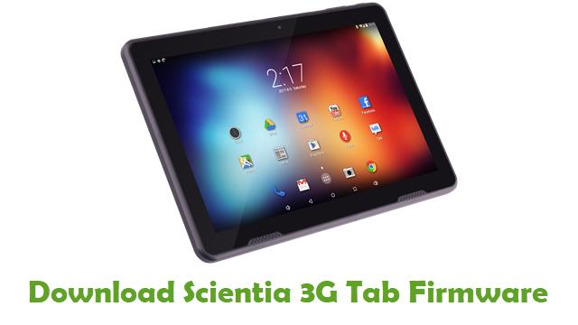 Download Scientia 3G Tab Stock ROM