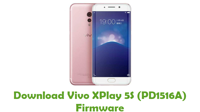 Vivo XPlay 5S PD1516A Stock ROM