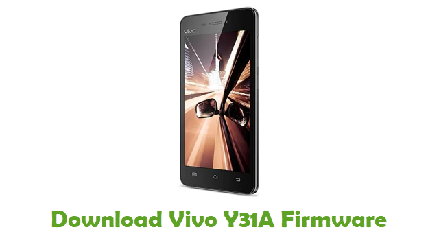 Download Vivo Y31A Firmware