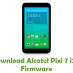 Alcatel Pixi 7 i213 Firmware