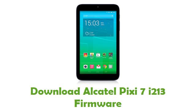 Download Alcatel Pixi 7 i213 Stock ROM