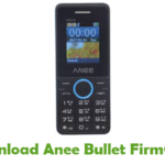 Anee Bullet Firmware