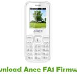 Anee FA1 Firmware