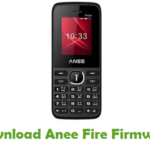 Anee Fire Firmware
