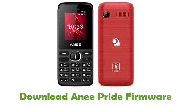 Download Anee Pride Firmware