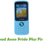 Anee Pride Plus Firmware