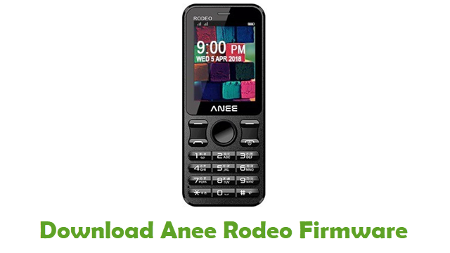 Download Anee Rodeo Firmware