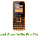 Anee Selfie Pro Firmware