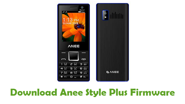 Download Anee Style Plus Firmware
